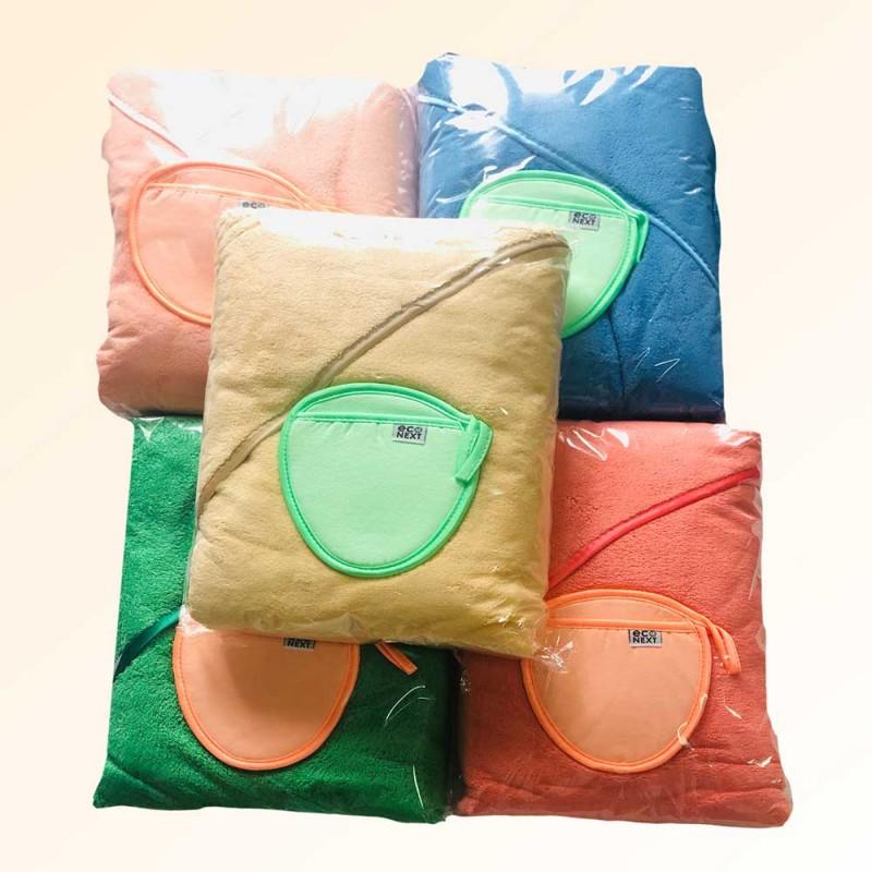 Детский набор- (уголок-полотенце + варежка)  (плотность 400 гр./м2)
