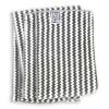 Полотенце ручное (пёстрая расцветка), супервпитывающее EcoNext (ProTex) (бамбук+хлопок+микрофибра) 45х95 см