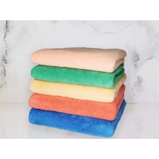 Полотенце банное, супервпитывающее с вышивкой ProTex (бамбук+хлопок+микрофибра)