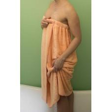 Парео женское из микрофибры с вышивкой  ProTex (бамбук+хлопок+микрофибра)